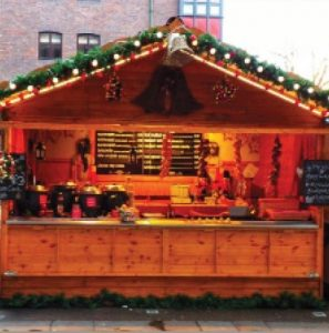Christmas street food markets - sounds unreal, but it's not!!